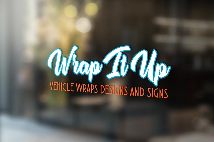vinyl graphic window signage