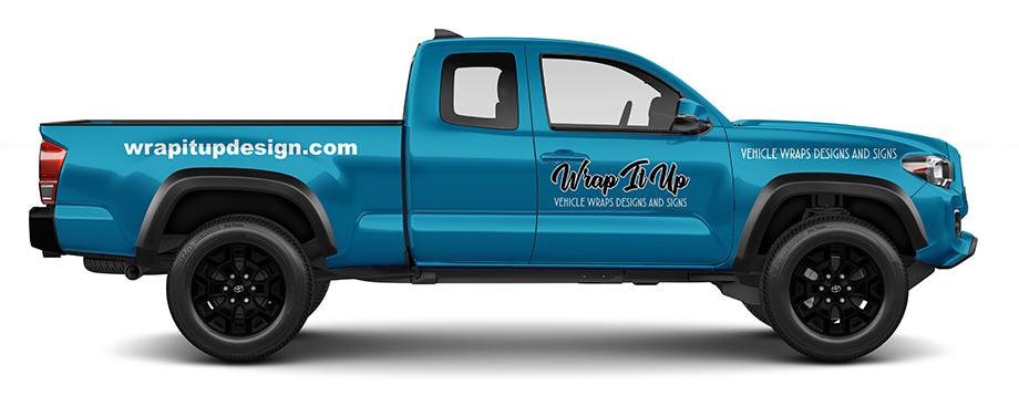 vinyl truck lettering