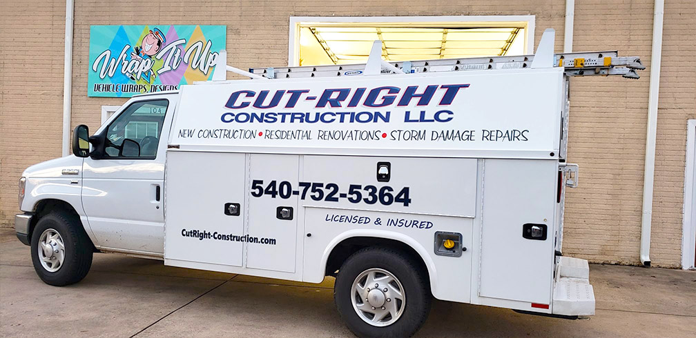 cut right construction vinyl decals 1